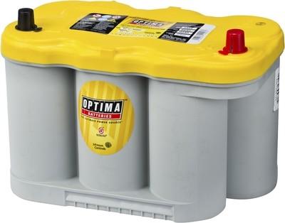 OPTIMA AGM Yellow Top 12V 66AH 845CCA (309x172x219mm) +høyre 8037-327
