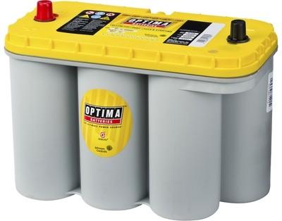 OPTIMA AGM Yellow Top 12V 75AH 975CCA (324x165x238mm) +venstre 8051-187
