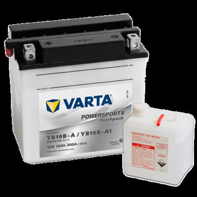 VARTA MC Batteri 12V 16AH 200CCA (160x90x161mm) +venstre YB16B-A