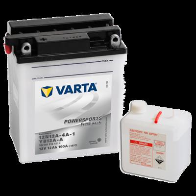 VARTA MC Batteri 12V 12AH 160CCA (136x82x161mm) +venstre YB12A-A
