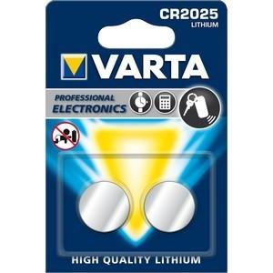 VARTA Lithium CR2025 3V 2-Pakning