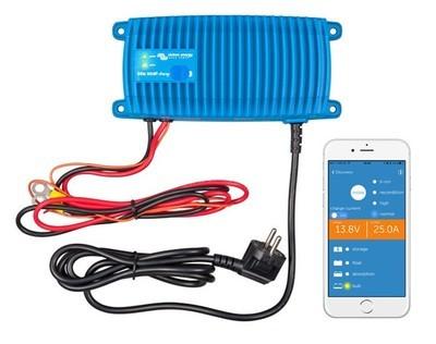 VICTRON Blue Smart IP67 Batterilader 12V 25A m/Bluetooth