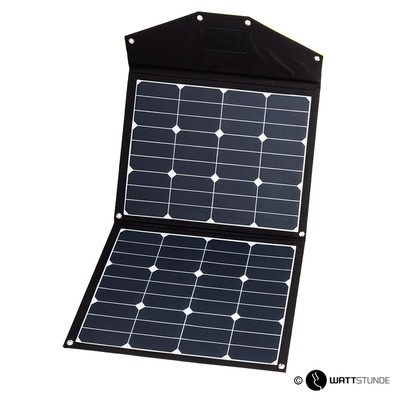 WATTSTUNDE Sammenleggbart Solcellepanel  80W