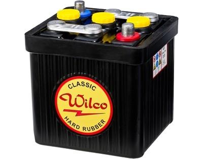 Wilco HR Classic 6V 66AH 265CCA (190x170x165/190) +diagonalt