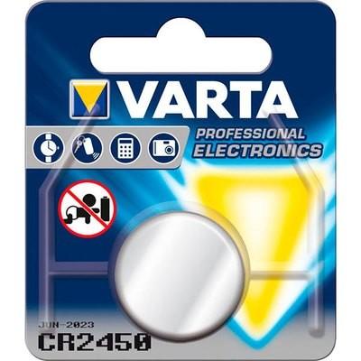 VARTA Lithium CR2450 3V 1-Pakning