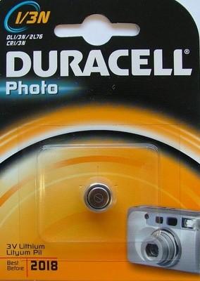 Duracell 3V 1-pk Lithium 1/3N