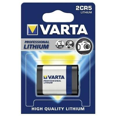 VARTA Lithium 6V 2CR5 1-Pakning