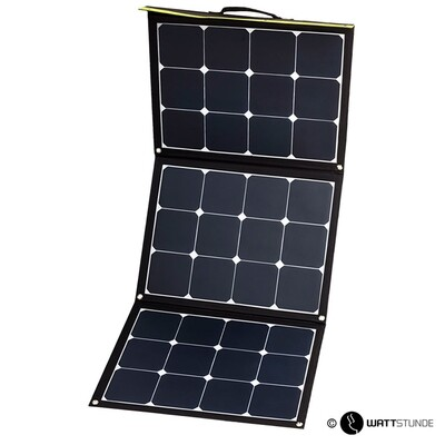 WATTSTUNDE Sammenleggbart Solcellepanel  120W