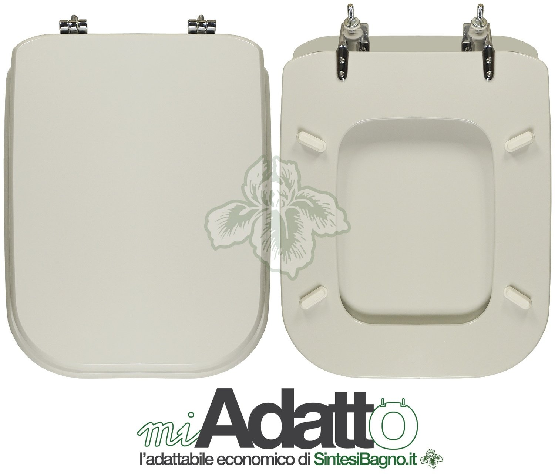 Ideal Standard Sedile Conca.Copriwater Conca Ideal Standard Adattabile Mdf Laccato