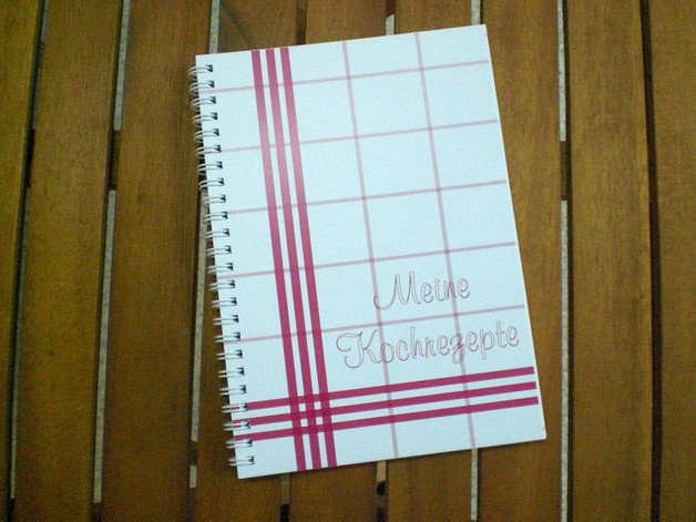 Kochbuch zum selber schreiben
