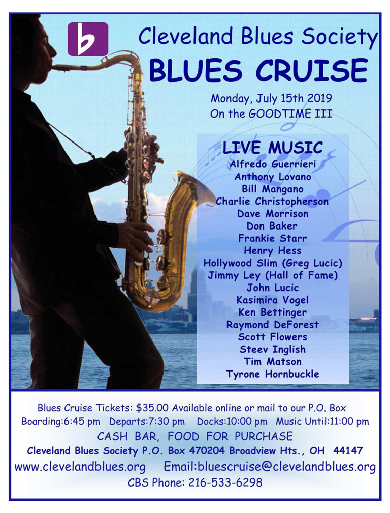 2019 Blues Cruise TICKETS
