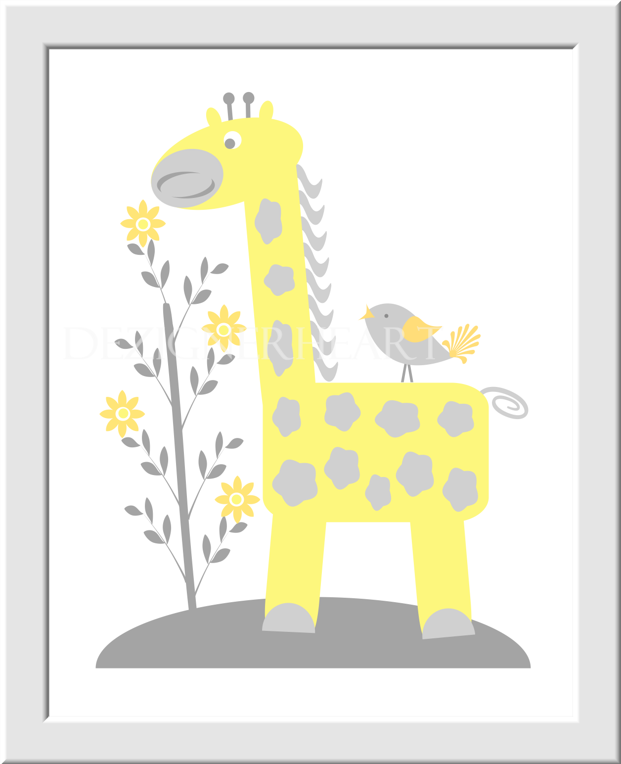 Modern Animal Wall Art Nursery Elaboration - The Wall Art ...