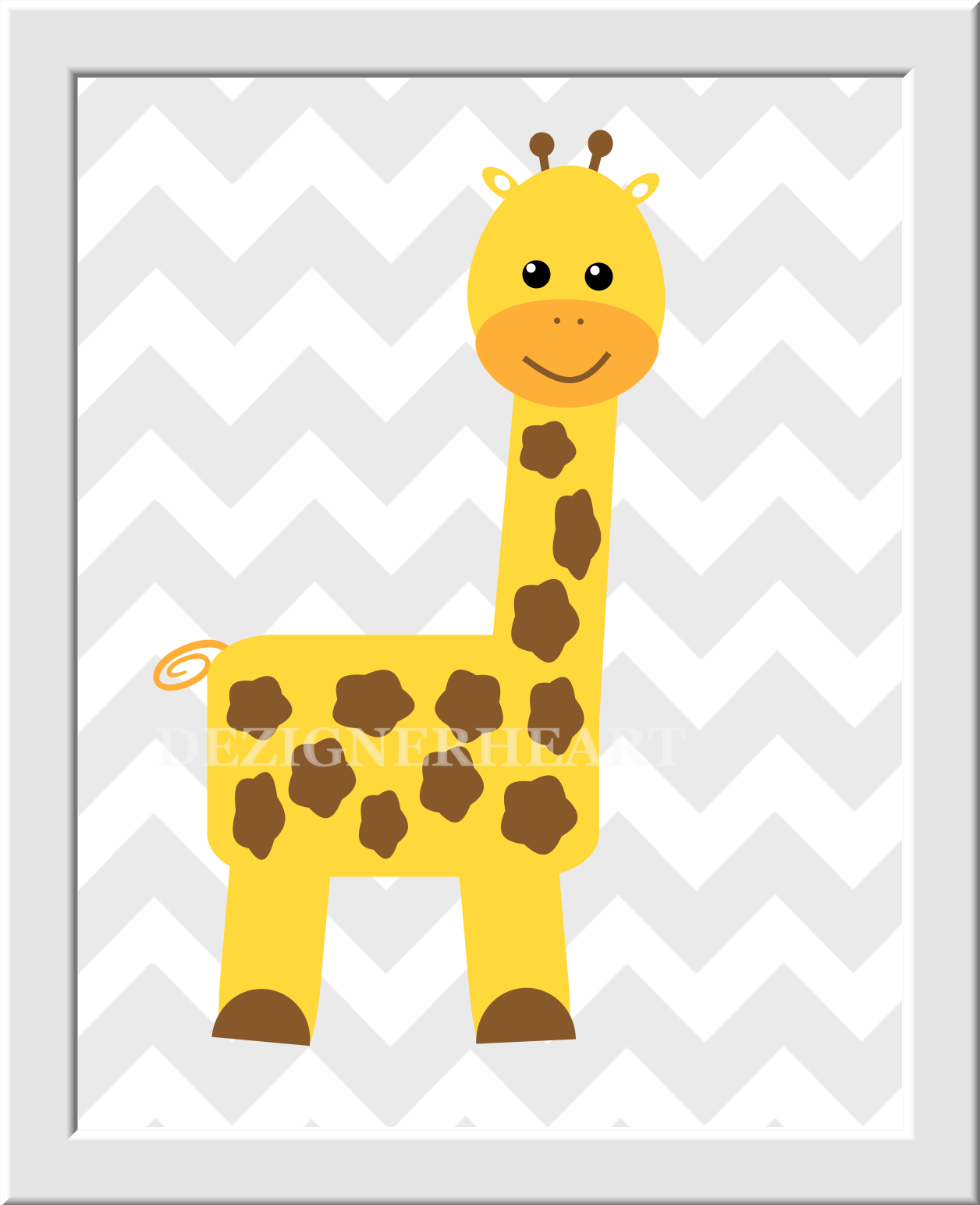 ZOO ANIMALS Baby Nursery Wall Art Baby Boy Baby Girl Nursery Decor ...