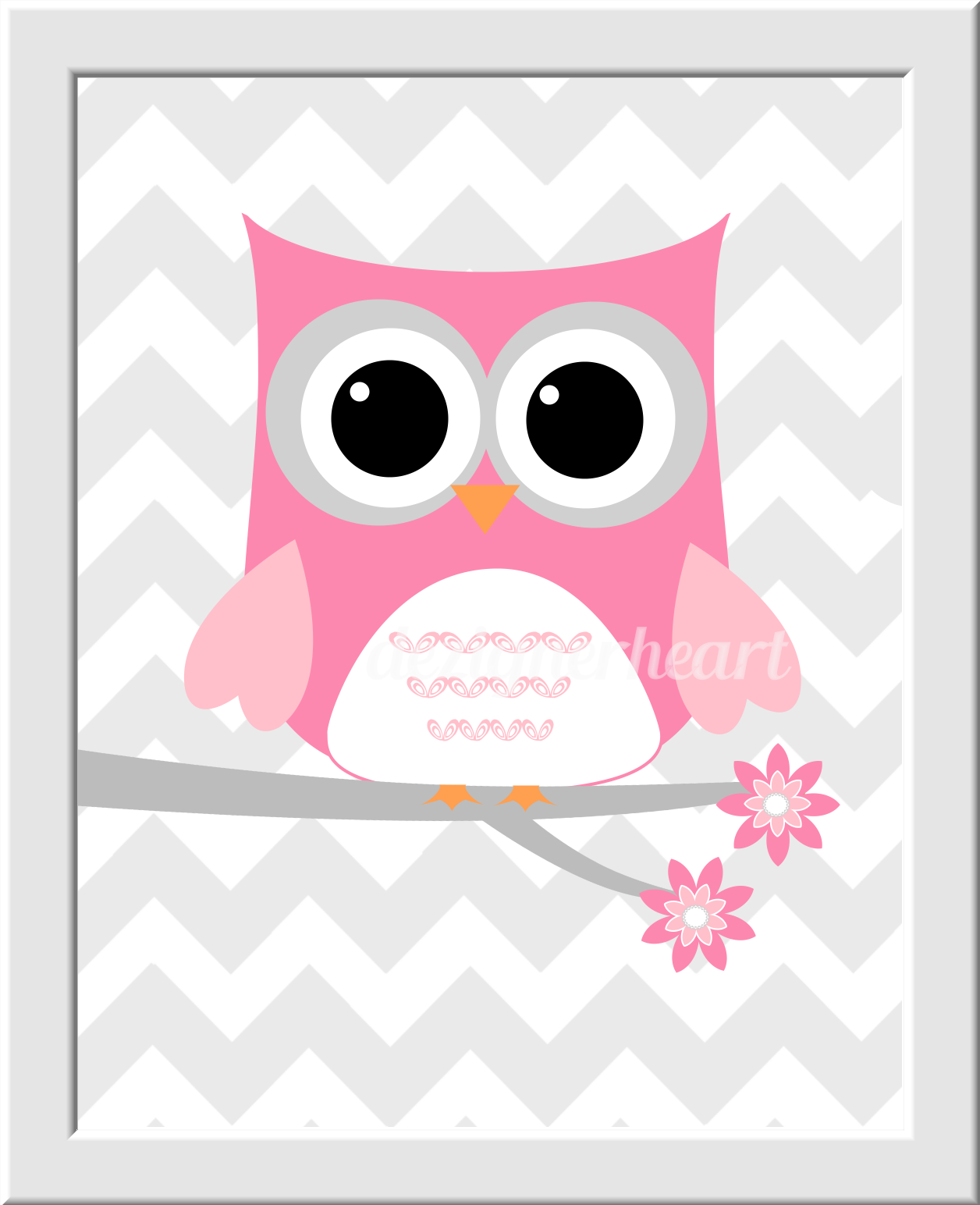 Twins baby nursery wall art baby girl owls twice the fun love baby girl nursery prints twins - Girl owl decor ...