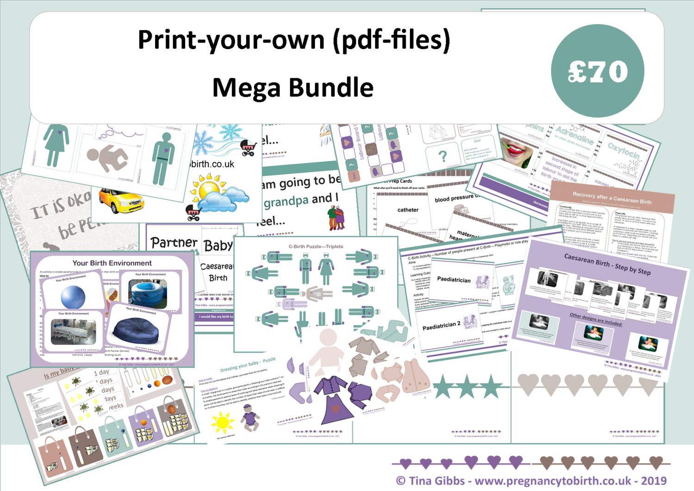 Mega Bundle (zip files containing pdf files)