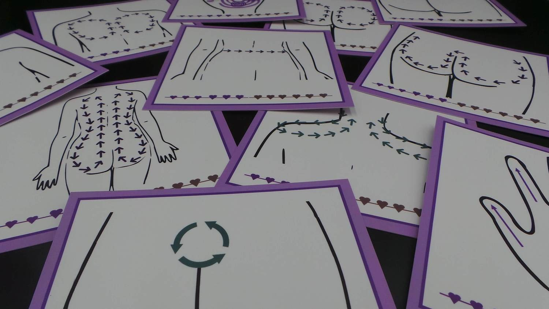 Massage Techniques Cards