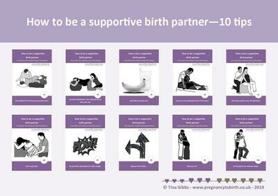 Birth Partners - 10 Tips