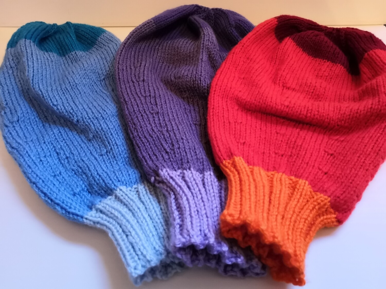 Knitted Uterus Model for Childbirth Education - basic