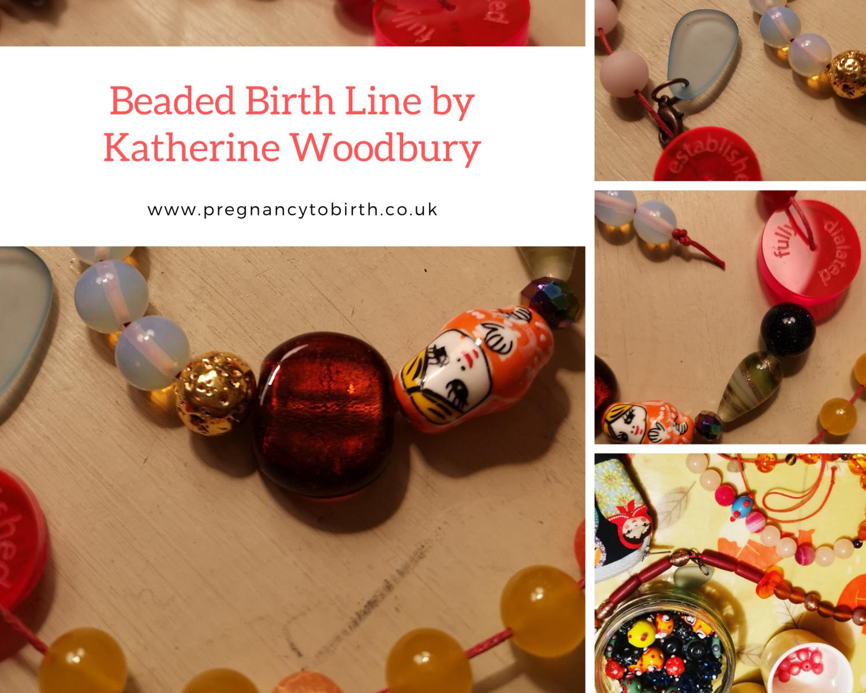 The Beaded Birth Line - by Katherine Woodbury