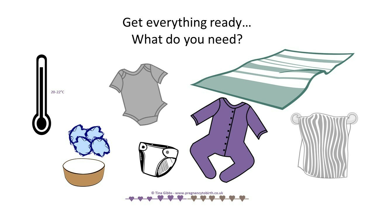 Change your baby's nappy - PowerPoint for online learning