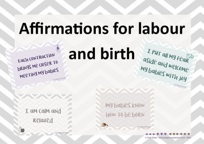 Affirmations Powerpoint shows for twins & multiples (set of 3)