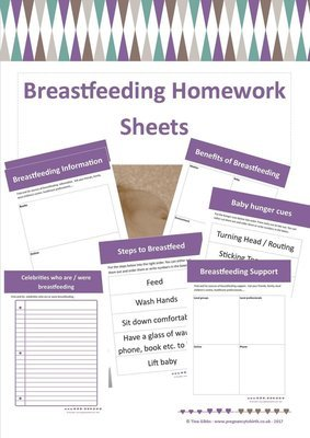 Breastfeeding Homework sheets