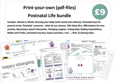 Postnatal Life Bundle (zip file containing pdf files)