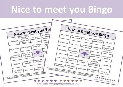 People Bingo + People Bingo TWINS - Icebreaker - Nice to meet you Bingo + Nice to meet you Bingo Twins