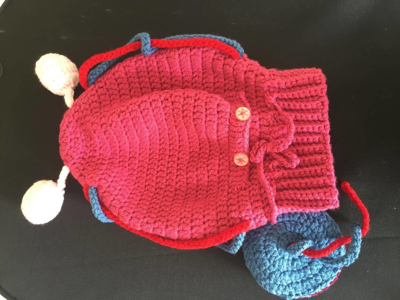 Crochet Uterus Model for Childbirth Education