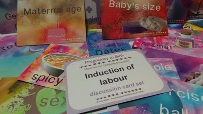 Induction of labour - A6 printed card set - 350gsm premium cards