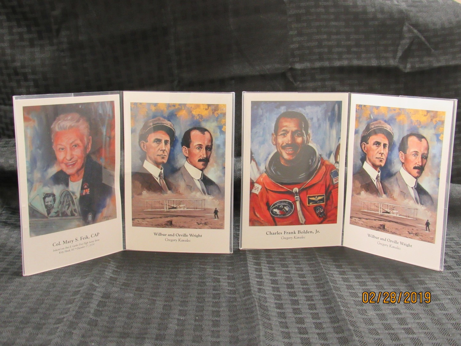 Paul Garber Shrine Inductees Postcards