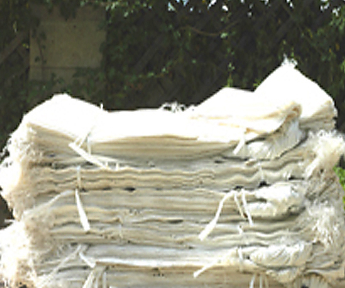 """1,000  LARGE white poly bags, 18""""x30"""" at $0.35 ea. - free shipping (lower 48 states)"""