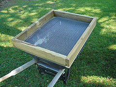 Soil & compost sifter