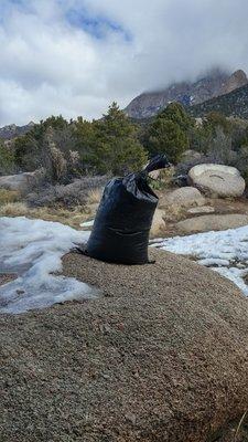25-pack 4-year HD polypropylene sandbags, empty, 14