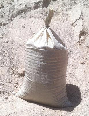 10-pack desert tan polypropylene sandbags, empty, 14