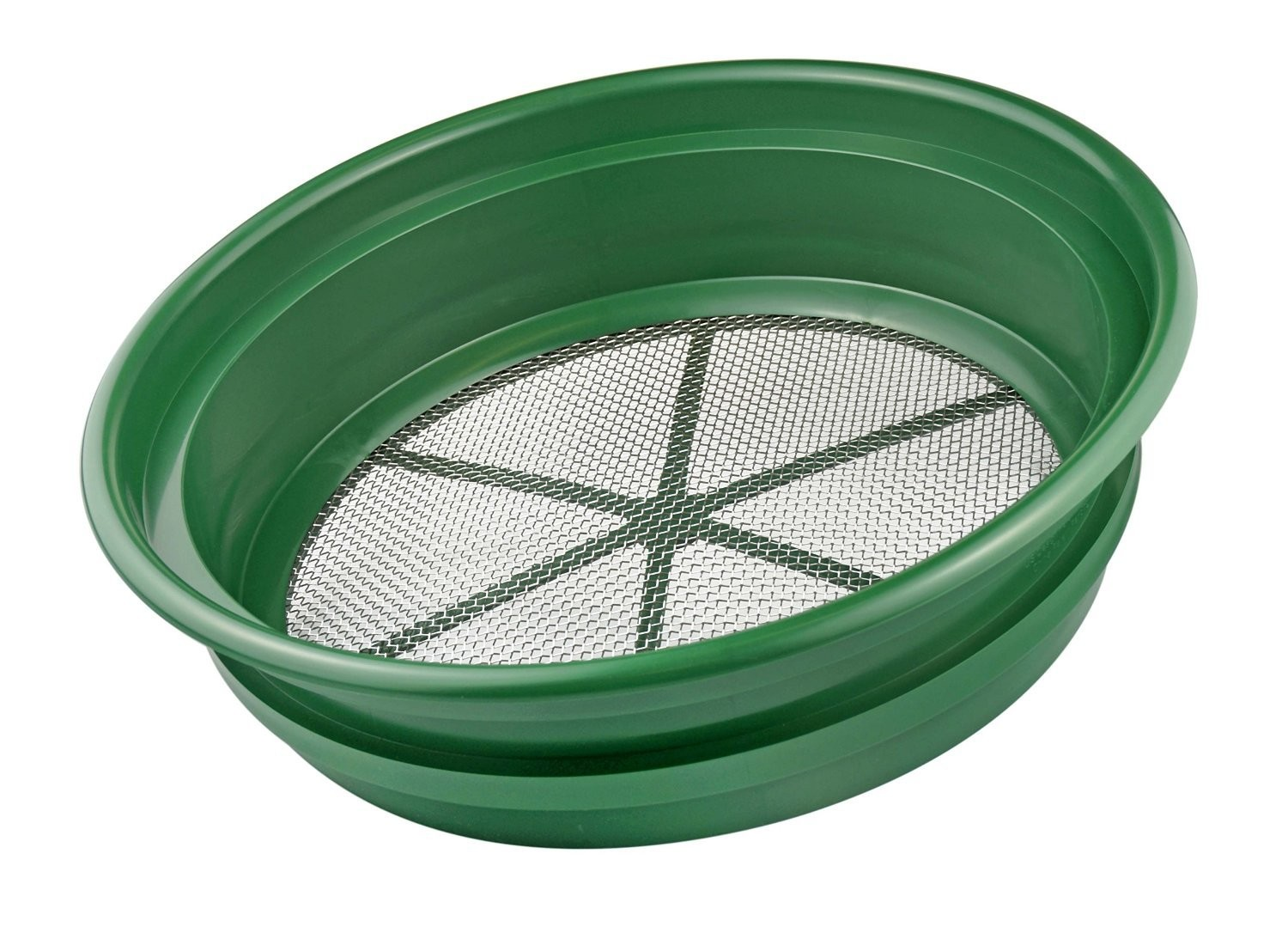 "Bucket sieve for screening your own plaster - 1/2"", 1/4"", 1/8"", 1/20"" and 1/50"""