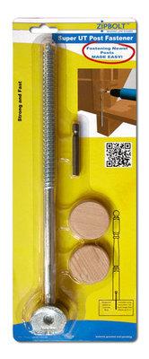 Zipbolt Super UT 12mm x 278mm (14.110) Post Fastener