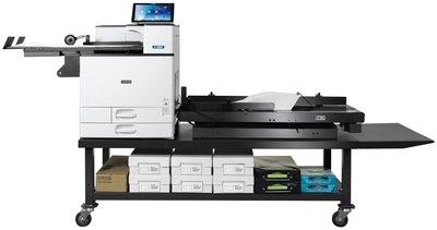 Xante En/Press Digital Multi-Media Press with the Enterprise high speed  feed system