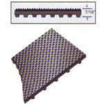 Rhino Pyramid Top-Knob Back Recess Mat