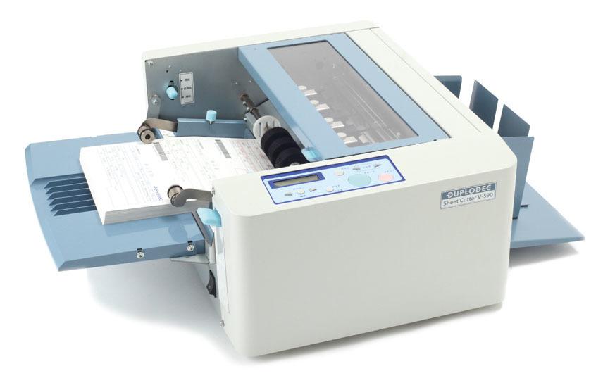 Duplo V-590 Sheet cutter