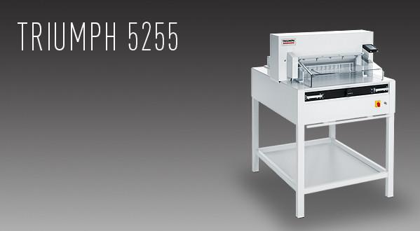 MBM Triumph 5255 Automatic Programmable Cutter