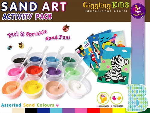 A Sand Art Kit - For Boys SA-AP-B