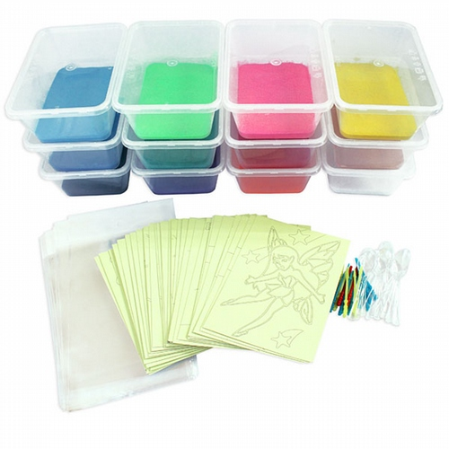A Sand Art Party Kit 40 Small Cards *New* SA-BP2