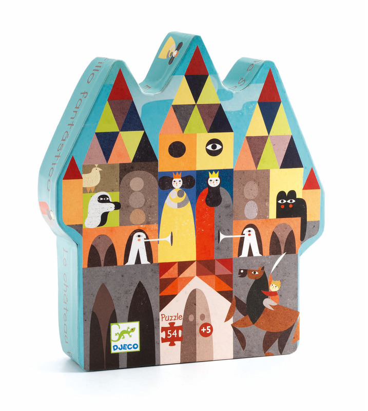 """Djeco Puzzle """"Fantastic Castle"""" 54 pce Kit DJ022"""