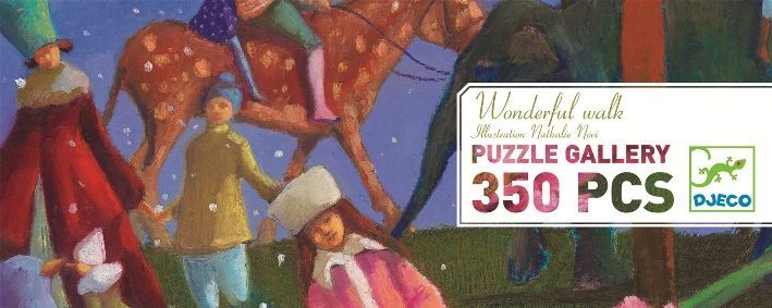 "Djeco Puzzle ""Wonderful Walk"" 350 pce Kit DJ026"
