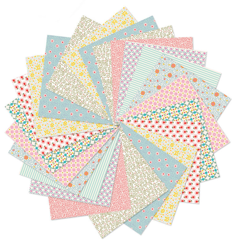 Djeco Origami Papers - 100 sheets in Pastel Colours