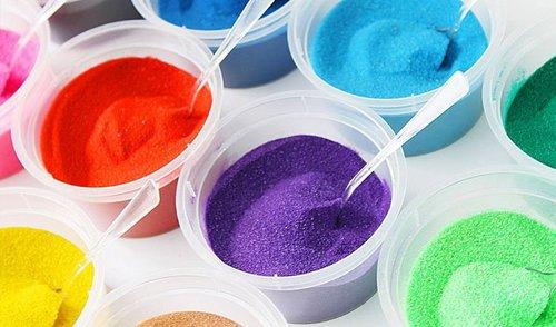 One set of coloured sand SA-BP3
