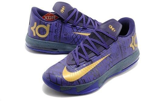 check out d4acf e86ce Nike KEVIN DURANT KD 6 VI BHM BLACK HISTORY MONTH PURPLE Size 9