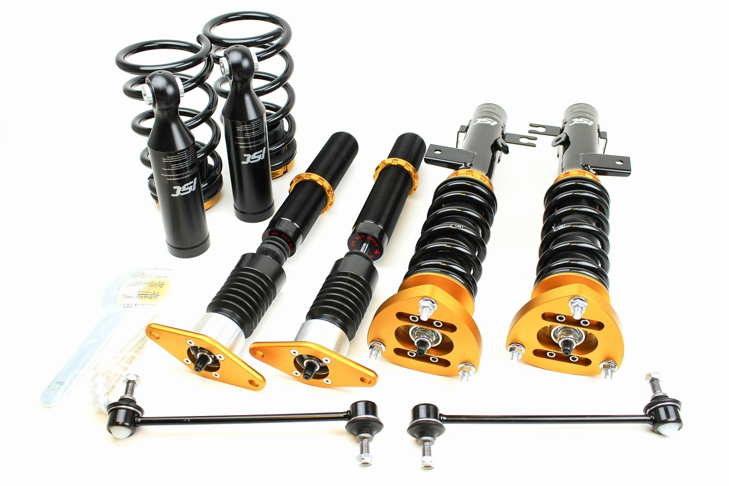 CLEARANCE Mazda 3 (14-17) ISC N1 Coilover Suspension - Track/Race Valving