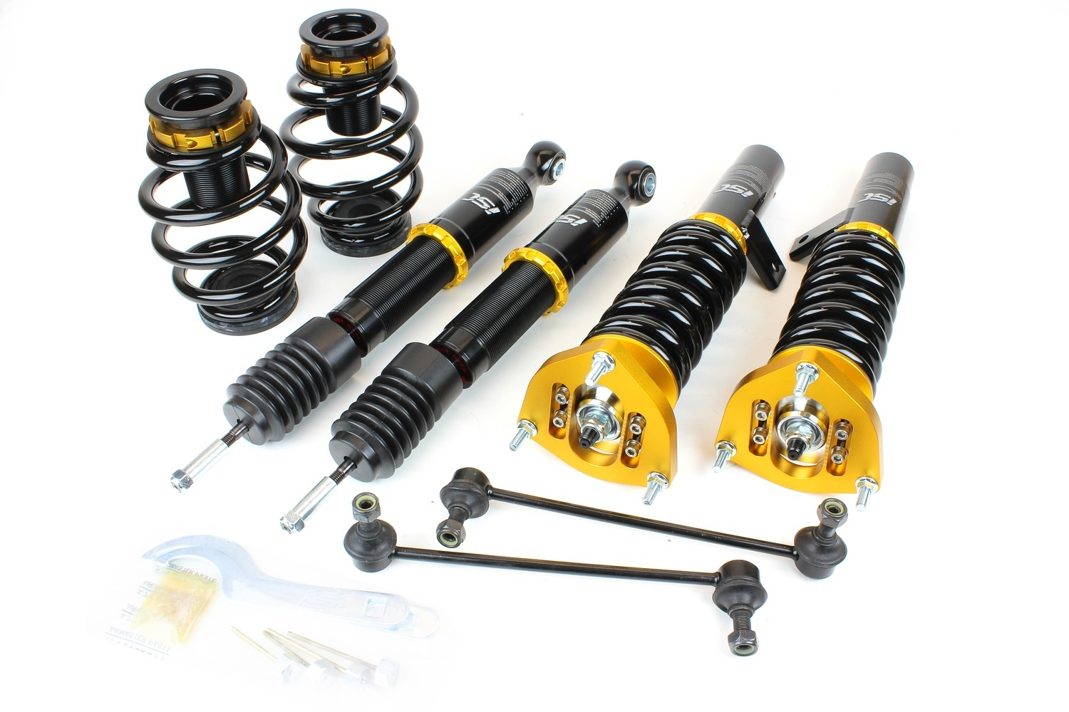 Volkswagen Golf Mk6 2WD (10-12) ISC N1 Coilover Suspension